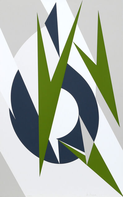 Lee Krasner, 'Embrace for the Olympics', 1974-76
