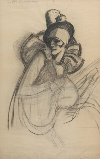 Marcello Dudovich, 'Female figure'