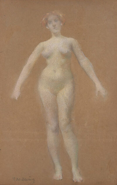 Thomas Wilmer Dewing, 'Female Nude'