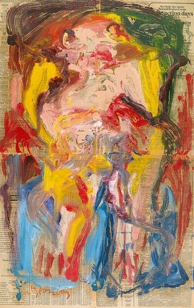 Willem de Kooning, 'Untitled Woman', 1972