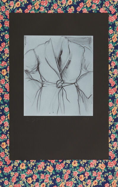 Jim Dine, 'The Robe Goes to Town', 1983