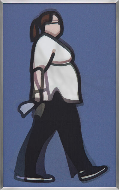 Julian Opie, 'Nurse, from Walking in London 1', 2014