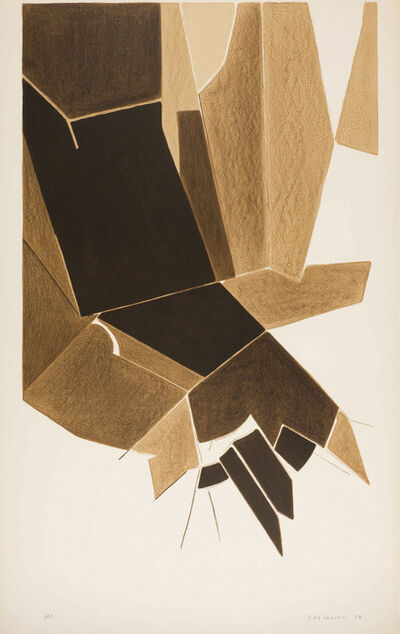 Pablo Palazuelo, 'Affiche A. L Paris', 1956