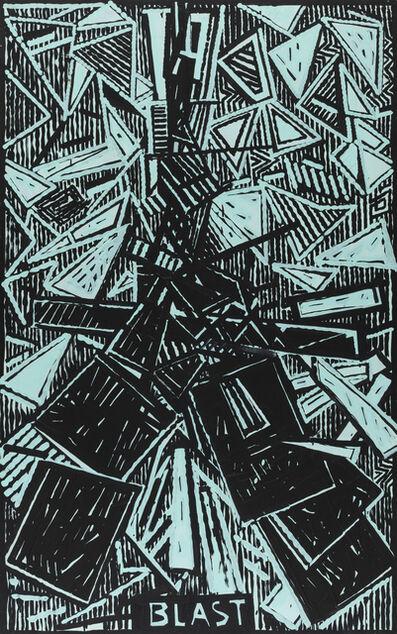 Aldo Mondino, 'Blast (Omaggio a E.Pound)'