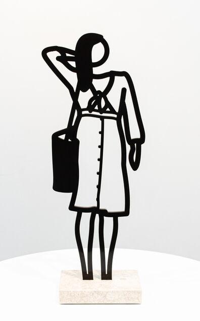 Julian Opie, 'Dress (from Boston Statuettes)', 2020
