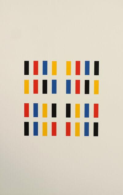 Aurelie Nemours, 'Xylophone', 1991