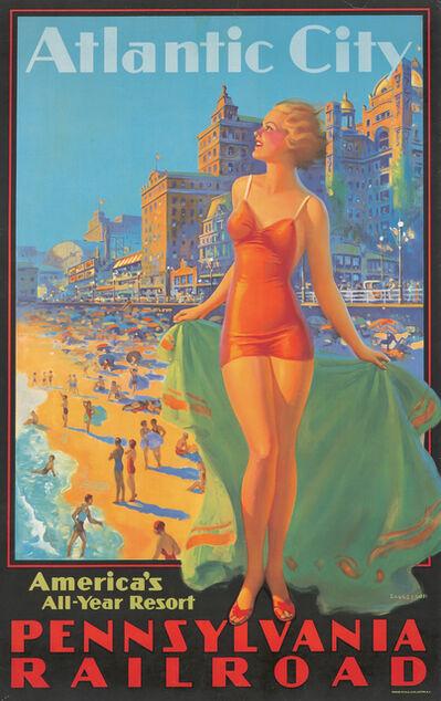 Edward Eggleston, 'Pennsylvania Railroad / Atlantic City', ca. 1935
