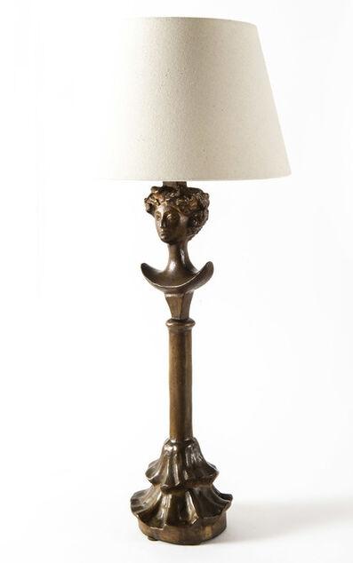 Alberto Giacometti, 'Lampe tête de femme', ca. 1970