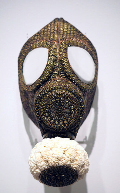 Promotesh Das Pulak, 'Untitled (Gas Mask for the Rich and Famous)', 2019