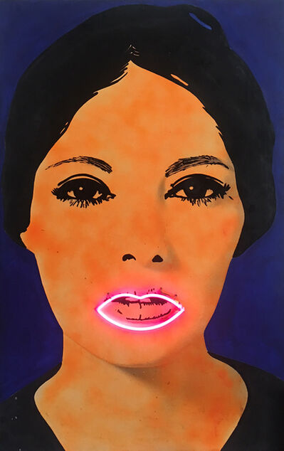 Sturtevant, 'D'après Martial Raysse, « PEINTURE A HAUTE-TENSION »', ca. 1968