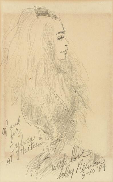 LeRoy Neiman, 'Portrait of Sylvia Miles', 1984