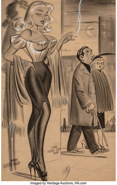 Bill Ward, 'On the Corner'