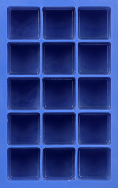 Isaac Layman, 'Untitled (blue depth ice cube tray)', 2011