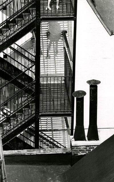André Kertész, 'Chimneys, Figure, Stacks and Firescapes', 1969