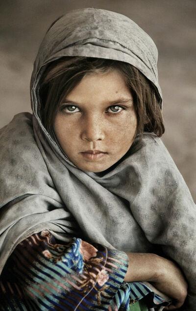 Steve McCurry, 'Afghan Nomad Girl', 1990