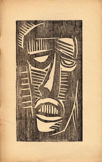 Karl Schmidt-Rottluff, 'Der Rote Hahn', 1918