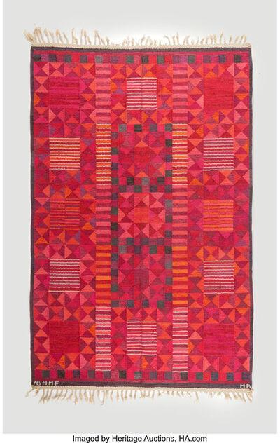 Marianne Richter, 'Rubirosa Flat-Weave Carpet', circa 1950