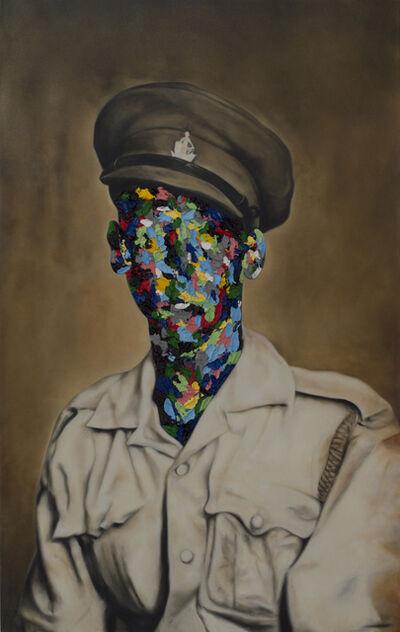 Rory Emmett, 'Found Coloured Portrait III', 2018