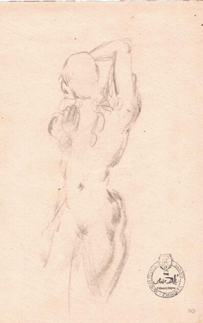 Salvador Dalí, 'Etude nu féminin du face (s.9056)',  1963