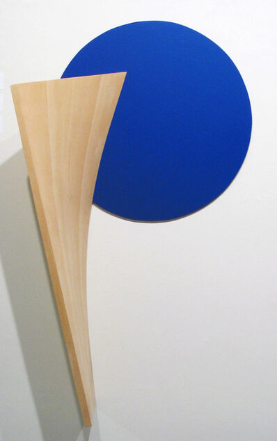 Tony Delap, 'Subterfuge in Blue', 1991