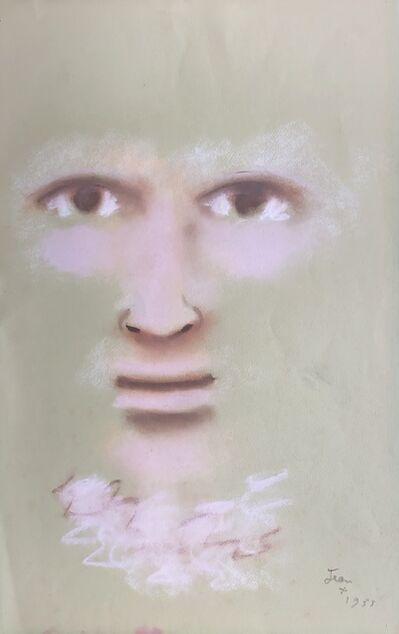 Jean Cocteau, 'Un Regard Mystérieux (A Mysterious Gaze)', 1958