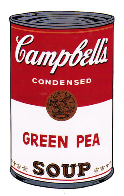 Andy Warhol, 'Campbell's Soup I (Green Pea)', 1968