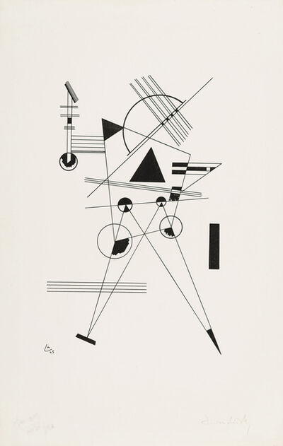 Wassily Kandinsky, 'Lithography No. I', 1925