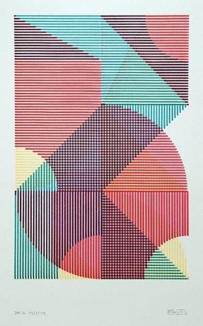 Eltono, 'DMA, Dessin Mécanique Aléatoire (Aleatory Mechanical Drawing) 13-3-19G'