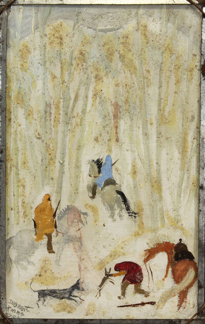 Dorothy Brett, 'Rabbit Hunt', 1952