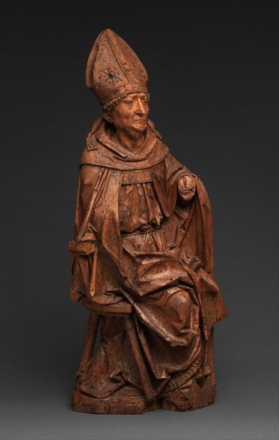 Tilman Riemenschneider, 'Seated Bishop', ca. 1495