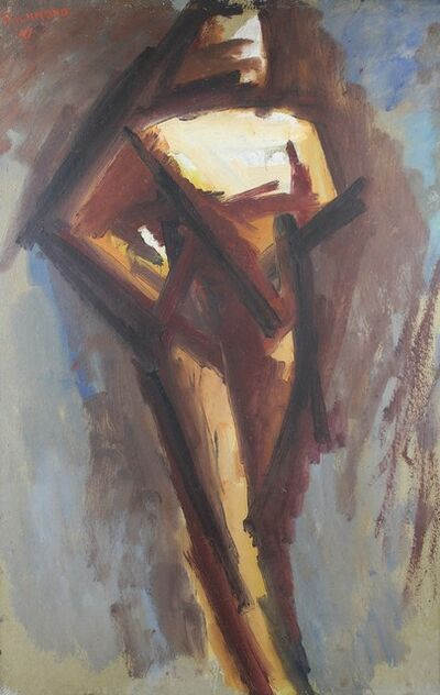 Miles Richmond, 'Nude study', 1947