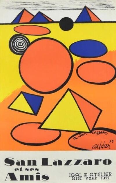 Alexander Calder, 'Alexander Calder Exhibition Poster: A San Lazzaro 75, 1977', 1977