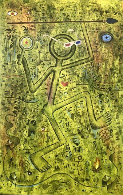 Luis Rodriguez Noa, 'Jungla (Realidad Aumentada)', 2019