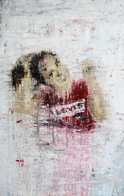 Roger Konig, '1248 girl in a red t-shirt', 2018