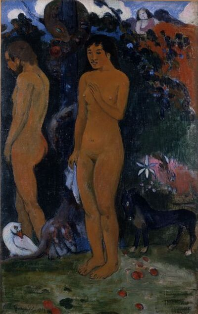 Paul Gauguin, 'Adam and Eve', 1902
