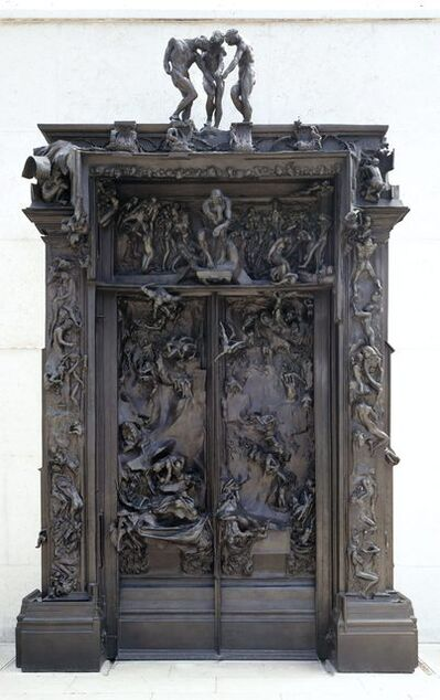 Auguste Rodin, 'La porte de l'Enfer (The Gates of Hell)'
