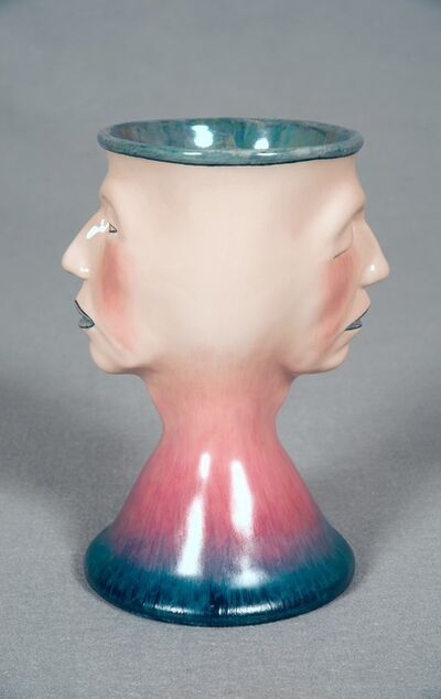 Judy Chicago, 'Two Faced Toby Mug #8', 2010