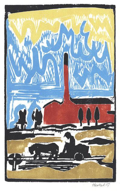 Erich Heckel, 'Ziegelei (Brick manufacture)', 1957