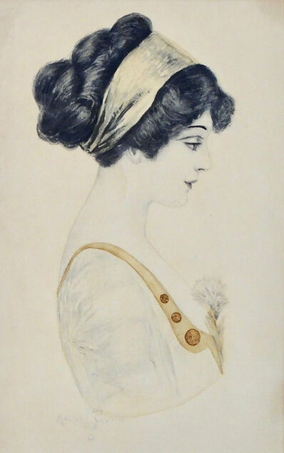 Archie Gunn, 'Portrait of a Woman', 1911