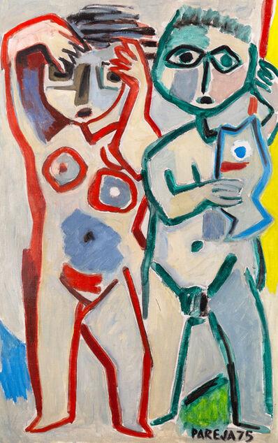 """Miguel Ángel Pareja, '""""El pez azul""""', 1975"""
