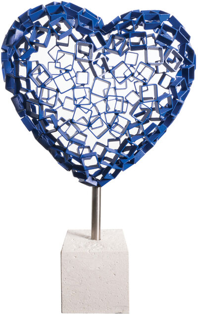 Rainer Lagemann, 'Diamond Love (blue)', 2017