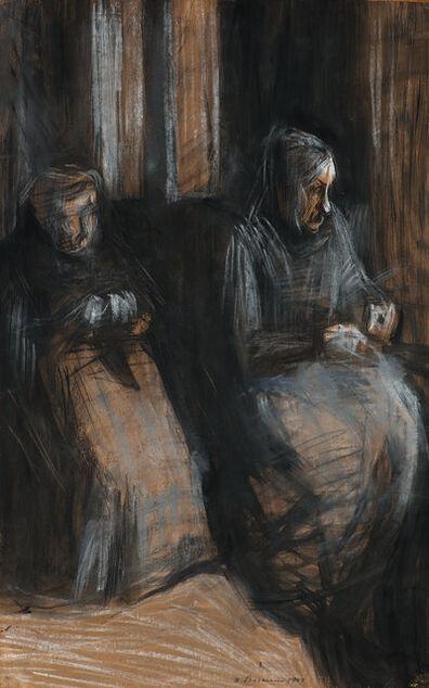 Umberto Boccioni, 'Due vecchie sedute', 1907