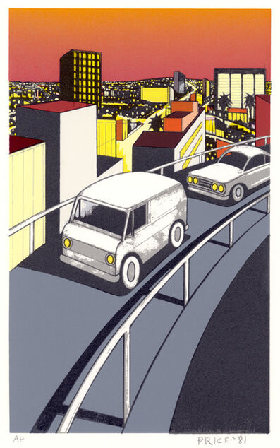 Ken Price, 'Elevated Freeway', 1981