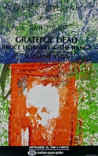 Robert Rauschenberg, 'Grateful Dead, 1988 Rainforest Benefit Poster', 1988