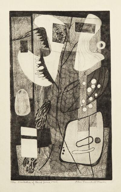 Alice Trumbull Mason, 'Orientation of Closed Forms', 1945
