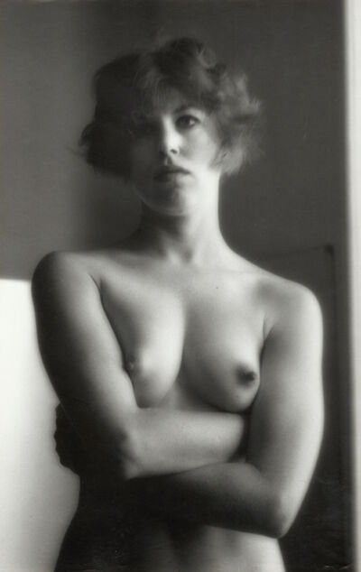 Ruth Bernhard, 'Female Nude with Crossed Arms', 1960s