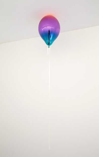 Jeppe Hein, 'Light Red, Medium Violet and Dark Turquoise Mirror Balloon', 2019