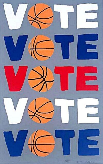 Jonas Wood, 'Vote (Vote, Vote, Vote, Vote, Vote)', 2018