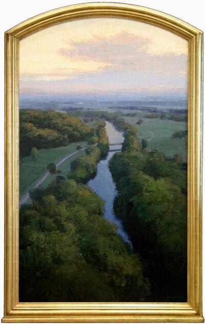 """Brad Aldridge, '""""Bridge at Dawn""""'"""