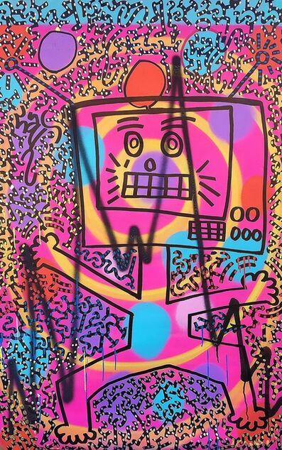 LA II (Angel Oritz), 'Wacky Robot', 2019